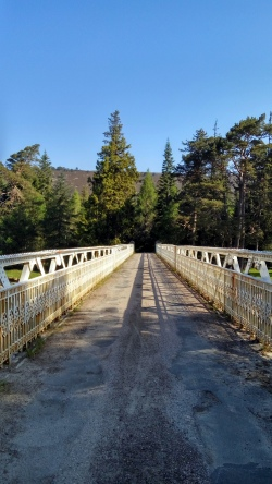 Bridge to Mar Lodge
